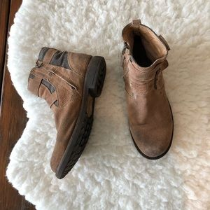 Bed Stu Men's Brown Suede Boots Size 10.5